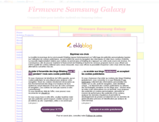 samsung.eklablog.fr screenshot
