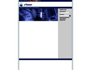 samsung.vtuner.com screenshot