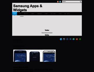 samsungapp.blogspot.com screenshot