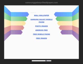 samsunggalaxys5wallpaper.com screenshot