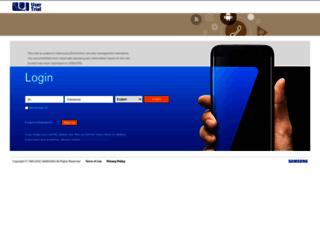 samsungusertrial.com screenshot