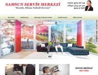 samsunimmergasservisi.com screenshot