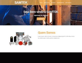 samtek.com.br screenshot