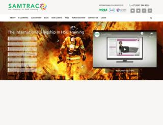 samtrac.com screenshot