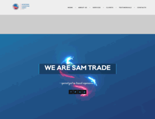 samtradeinc.com screenshot