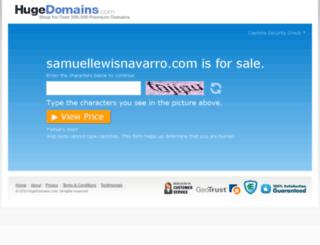 samuellewisnavarro.com screenshot