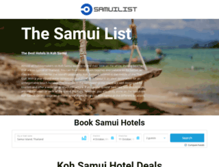 samuilist.com screenshot