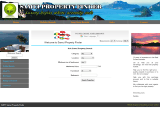 samuipropertyfinder.com screenshot