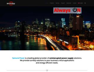 samurai-power.com screenshot