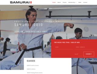 samurai.co.za screenshot