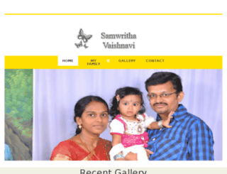 samwritha.com screenshot
