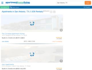 san-antonio.apartmenthomeliving.com screenshot