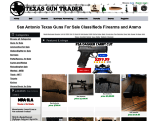 san-antonio.texasguntrader.com screenshot