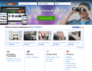 san-cristobal.doplim.com.ve screenshot