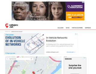 san-fernando.callejero.net screenshot