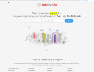 san-luis-rio-colorado.infoisinfo.com.mx screenshot