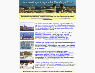 san-petersburgo.com screenshot