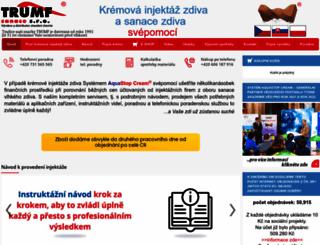 sanace-trumf.cz screenshot