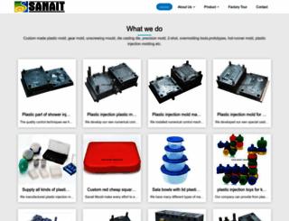 sanait-mould.com screenshot