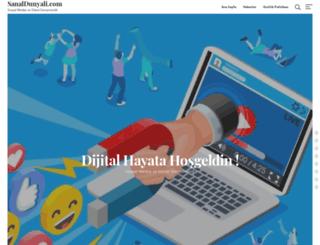 sanaldunyali.com screenshot