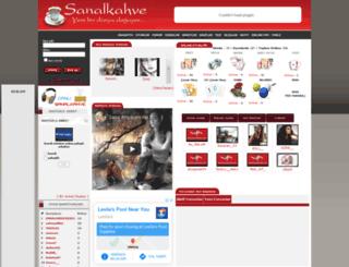sanalkahve.com screenshot