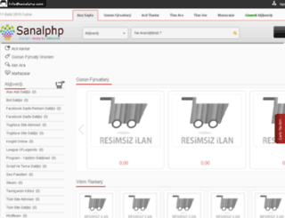 sanalphp.com screenshot