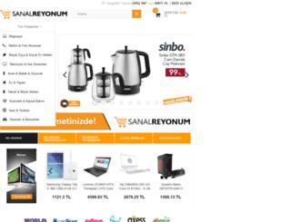 sanalreyonum.com screenshot