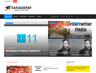 sanalsinif.net screenshot