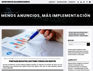 sanando.bligoo.com screenshot