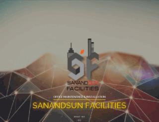 sanandsunfacilities.com screenshot