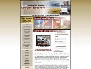 sanantonio.accidentrecovery.org screenshot