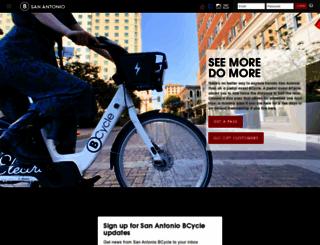 sanantonio.bcycle.com screenshot