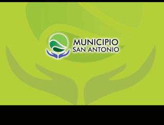 sanantoniooeste.gov.ar screenshot