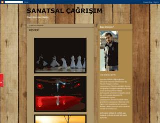 sanatsalcagrisim.blogspot.com.tr screenshot
