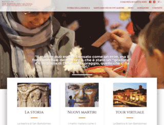 sanbartolomeo.org screenshot