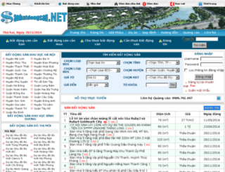 sanbatdongsan.net screenshot