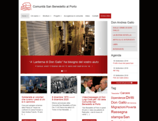 sanbenedetto.org screenshot