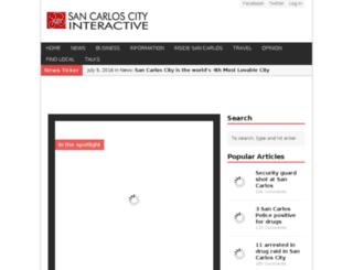 sancarloscityinteractive.com screenshot