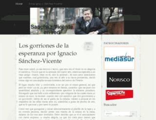 sanchez-vicente.es screenshot