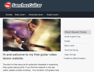 sanchezgtrs.com screenshot