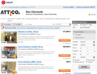 sanclemente.attico.it screenshot