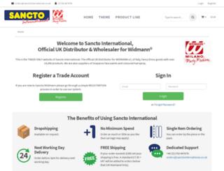 sanctointernational.co.uk screenshot