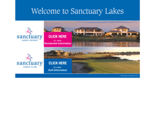 sanctuarylakes.com.au screenshot