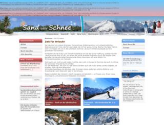sand-oder-schnee.de screenshot