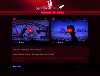 sandartsg.com screenshot