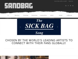 sandbag.uk.com screenshot