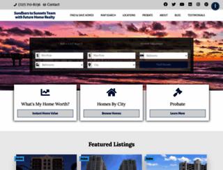 sandbarstosunsets.com screenshot