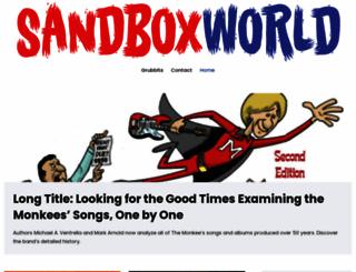sandboxworld.com screenshot