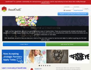 sandcrate.com screenshot