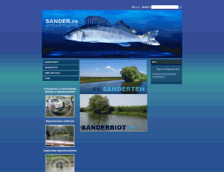 sander.ro screenshot